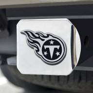 Tennessee Titans Chrome Metal Hitch Cover
