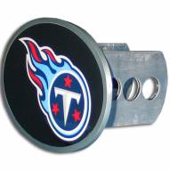 Tennessee Titans Class II and III Oval Metal Hitch Cover
