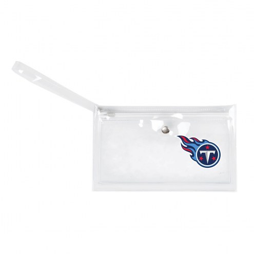 Tennessee Titans Clear Ticket Wristlet