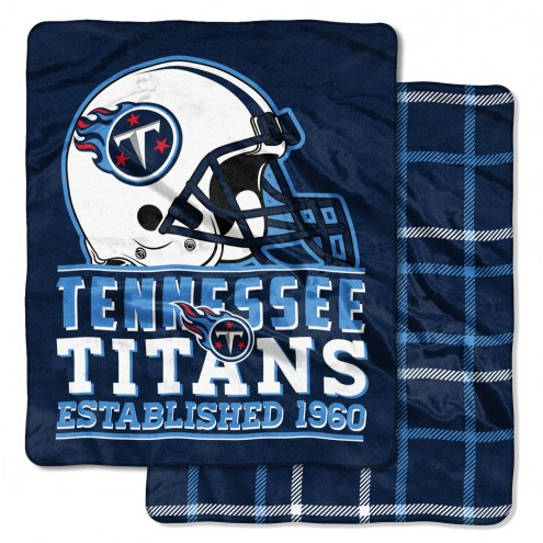 Tennessee Titans Cloud Throw Blanket