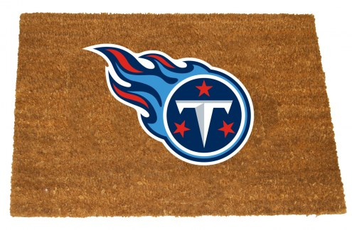 Tennessee Titans Colored Logo Door Mat