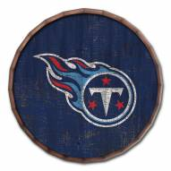 """Tennessee Titans Cracked Color 16"""" Barrel Top"""