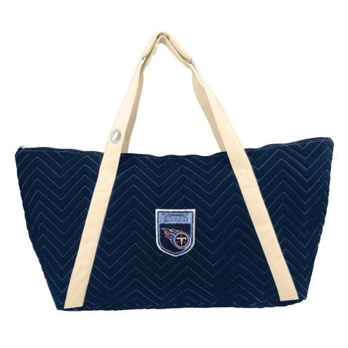 Tennessee Titans Crest Chevron Weekender Bag