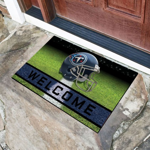 Tennessee Titans Crumb Rubber Door Mat