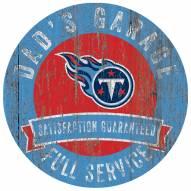 Tennessee Titans Dad's Garage Sign