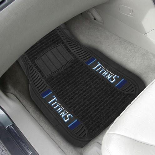 Tennessee Titans Deluxe Car Floor Mat Set