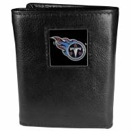 Tennessee Titans Deluxe Leather Tri-fold Wallet in Gift Box