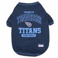 Tennessee Titans Dog Tee Shirt