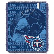Tennessee Titans Double Play Jacquard Throw Blanket
