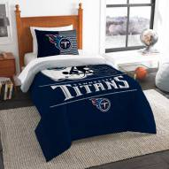 Tennessee Titans Draft Twin Comforter Set