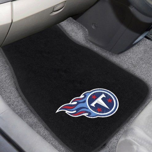 Tennessee Titans Embroidered Car Mats