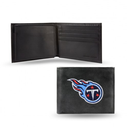 Tennessee Titans Embroidered Leather Billfold Wallet