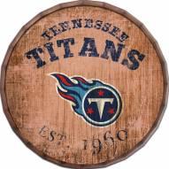 "Tennessee Titans Established Date 16"" Barrel Top"