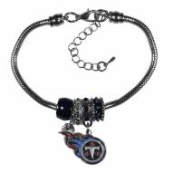 Tennessee Titans Euro Bead Bracelet