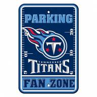 Tennessee Titans Fan Zone Parking Sign