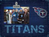 Tennessee Titans Wood Clip Frame