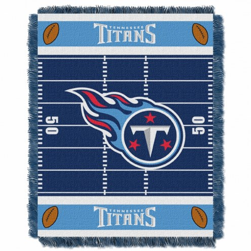 Tennessee Titans Field Baby Blanket