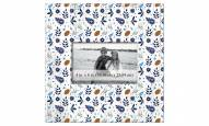 """Tennessee Titans Floral Pattern 10"""" x 10"""" Picture Frame"""