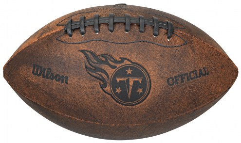 Tennessee Titans Vintage Throwback Football