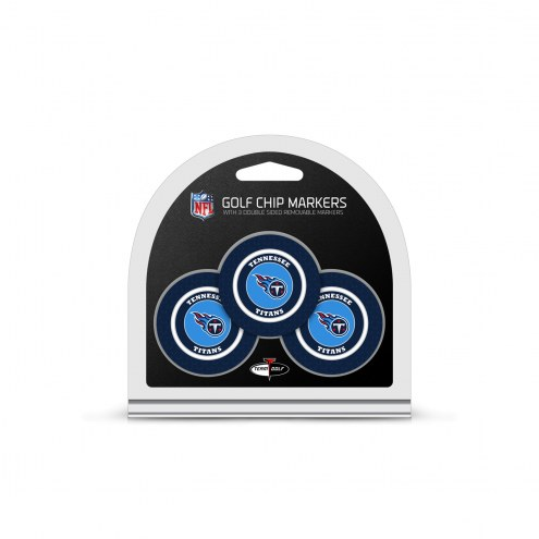 Tennessee Titans Golf Chip Ball Markers