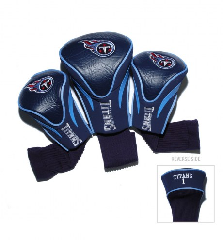 Tennessee Titans Golf Headcovers - 3 Pack