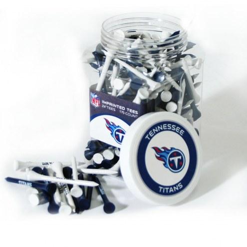 Tennessee Titans 175 Golf Tee Jar