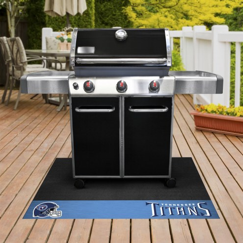 Tennessee Titans Grill Mat