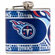 Tennessee Titans Hi-Def Stainless Steel Flask