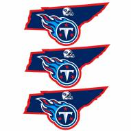 Tennessee Titans Home State Decal - 3 Pack
