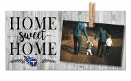 Tennessee Titans Home Sweet Home Clothespin Frame