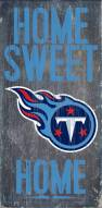 Tennessee Titans Home Sweet Home Wood Sign