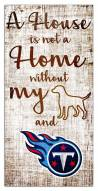Tennessee Titans House is Not a Home Sign