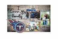 Tennessee Titans I Love My Family Clip Frame