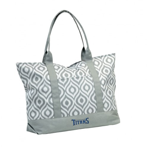 Tennessee Titans Ikat Tote Bag