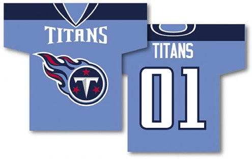 Tennessee Titans Jersey Banner
