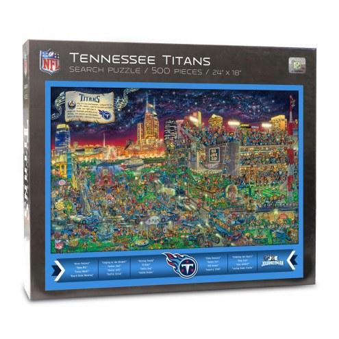 Tennessee Titans Joe Journeyman Puzzle