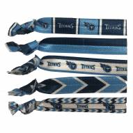 Tennessee Titans Knotted Hair Tie