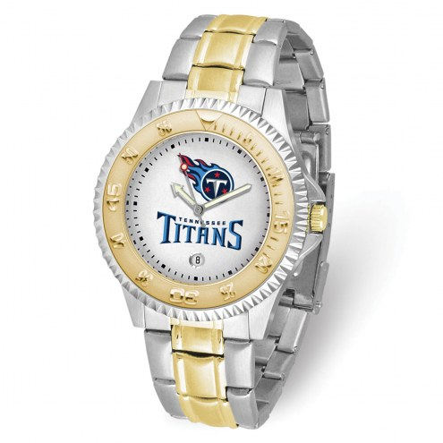 Tennessee Titans Competitor Two-Tone Men's Watch