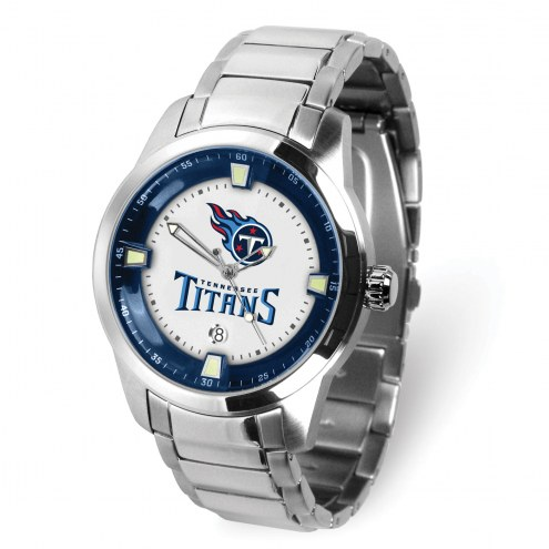 Tennessee Titans Titan Steel Men's Watch