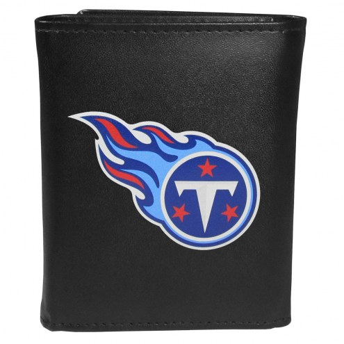 Tennessee Titans Large Logo Leather Tri-fold Wallet
