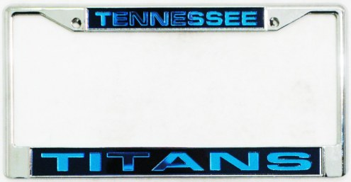 Tennessee Titans Laser Cut License Plate Frame