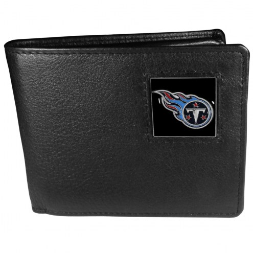 Tennessee Titans Leather Bi-fold Wallet in Gift Box