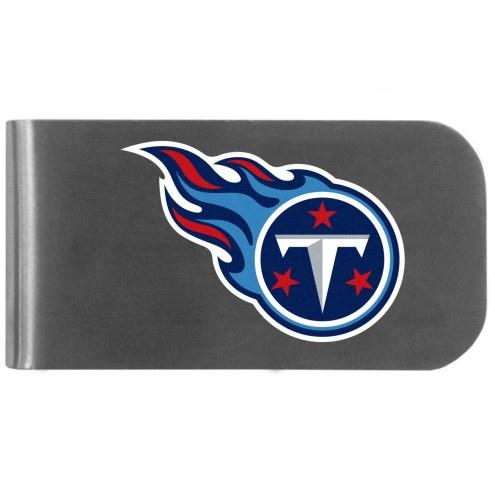 Tennessee Titans Logo Bottle Opener Money Clip