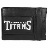 Tennessee Titans Logo Leather Cash and Cardholder
