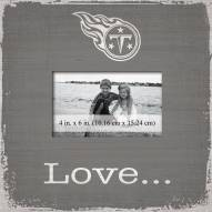 Tennessee Titans Love Picture Frame