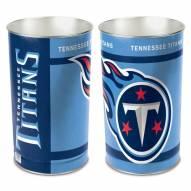 Tennessee Titans Metal Wastebasket