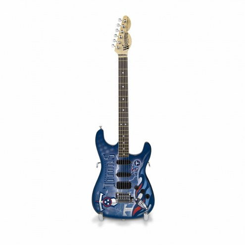 Tennessee Titans Mini Collectible Guitar