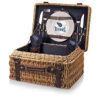 Tennessee Titans Navy Champion Picnic Basket