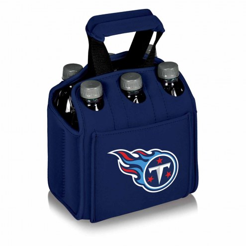 Tennessee Titans Navy Six Pack Cooler Tote