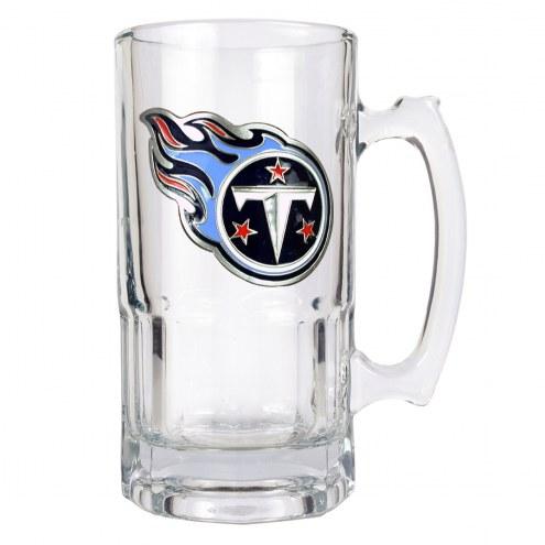 Tennessee Titans NFL 1 Liter Glass Macho Mug